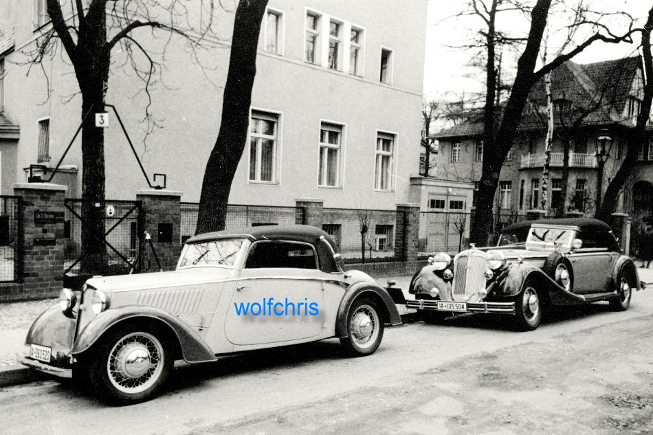 orig foto abzug reprint oldtimer dkw auto union cabrio berlin 1937 ebay. Black Bedroom Furniture Sets. Home Design Ideas